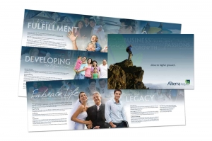 Logo and Collateral for Alterra Wealth Management