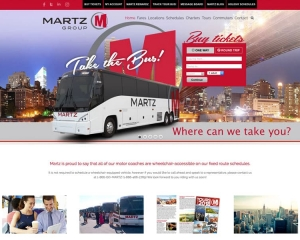 Martz Group Trailways CMS Website