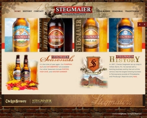 Stegmaier Brewery CMS Website