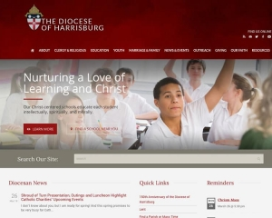Diocese of Harrisburg Website