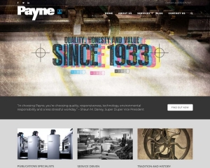 Payne Printery CMS Website