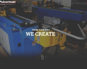 Pulverman Manufacturing Website