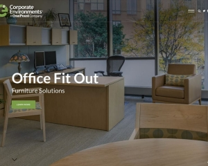 Corporate Environments Website