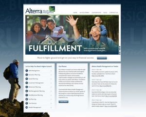 Alterra Wealth Management CMS Website