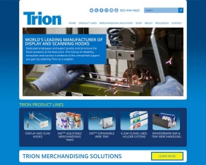 Trion Industries CMS Website