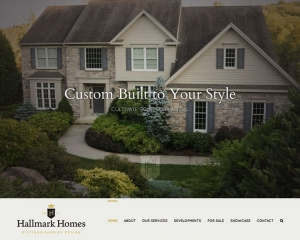 Hallmark Homes PA Website